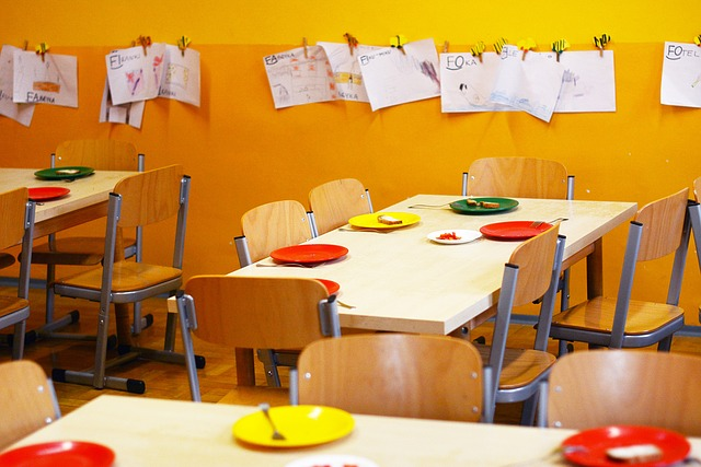 jídelna ve školce