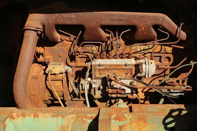 starý motor