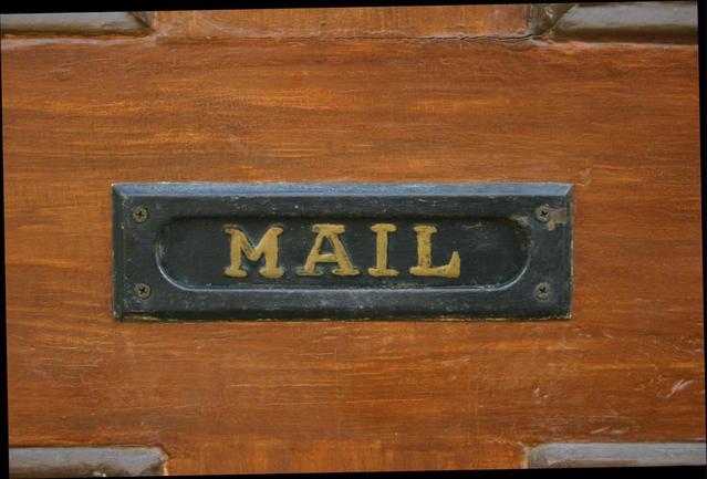 obrázek poštovní schránky