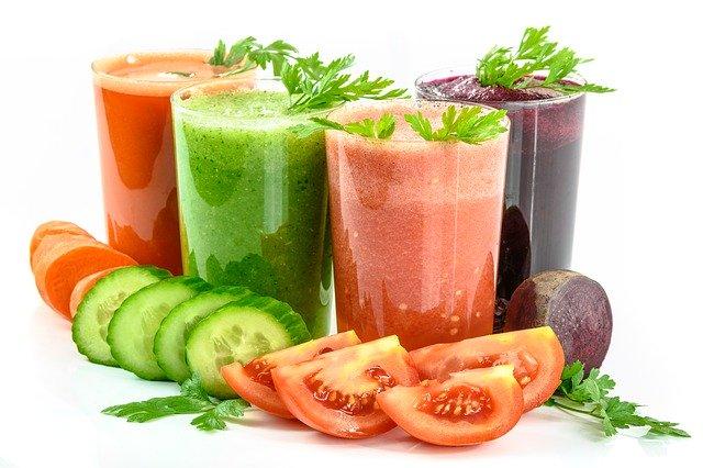 Čerstvé zeleninové šťávy