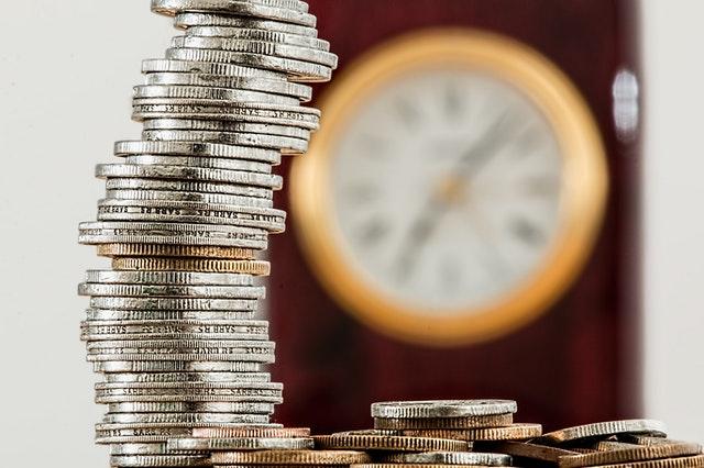 mince, hodiny, čas, spoření